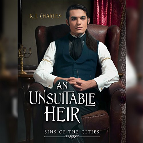 An Unsuitable Heir audiobook cover art