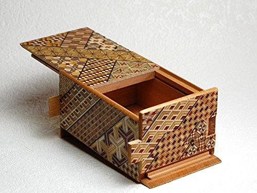 Caja secreta japonesa koyosegi, 5 SUN, 21 pasos para abrirla ...