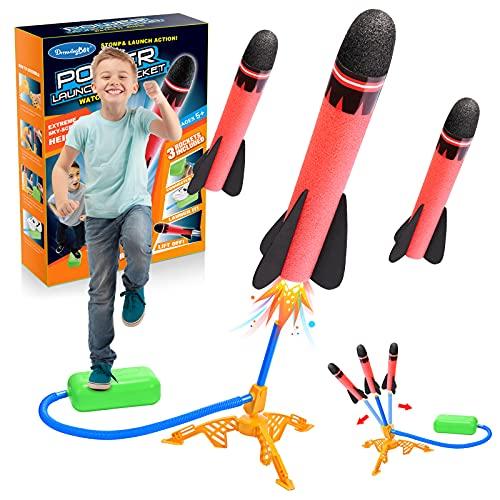 Abestoy Spielzeug Junge 3 4 5 6 7 8 9 10 Jahre, Outdoor Spiele für Kinder Spielzeug für Draußen Witzige Geschenke für Kinder ab 3-9 Jahre Rakete Spielzeug Mädchen 4-8 Jahre Geschenke Geburtstag (Bunt)