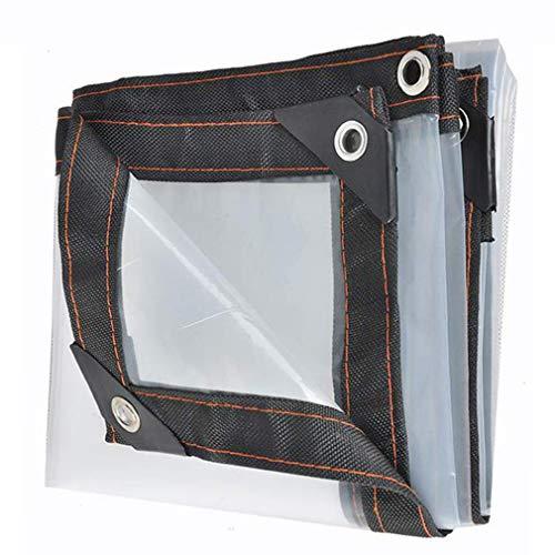 SACYSAC Waterdicht en winddicht transparant kunststof dekzeil vensterbank waterdicht ritssluiting waterdichte doek