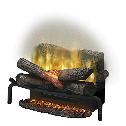 "DIMPLEX 20"" Revillusion Electric Fireplace Log Set w/Ashmat - DLG920"
