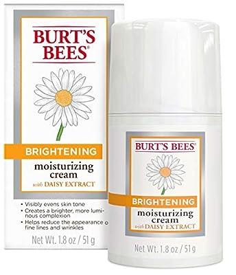 Burt's Bees Brightening Moisturizing Cream, 1.8 Ounces