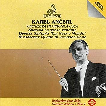 Karel Ancerl conducts Smetana, Dvorak, Mussorgsky