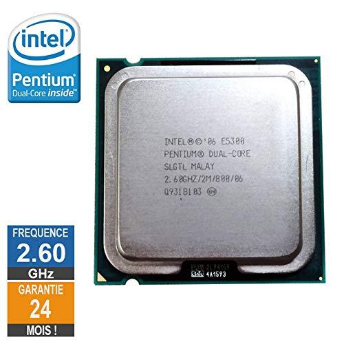 Little Phoenix Intel-Prozessor Pentium D E5300 2.60GHz Slgtl LGA775 2Mo