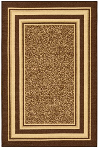 Ottomanson Area Rug, 3'3' X 5', Brown