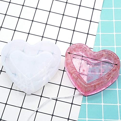 aschenbecher CDFSG Aschenbecher Form DIY Kristall Gel Form Kieselgel Form Spiegel Wirkung See Licht Stein Gel Material 12cm G