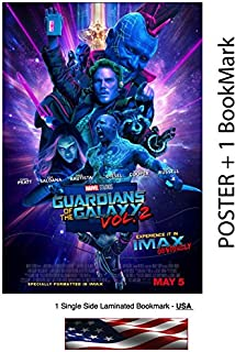 WMG Guardians of the Galaxy Vol. 2 II - Movie Poster/Flyer/Promo, 11 x 17 Inches (Glossy Photo Paper) - Chris Pratt, Zoe Saldana, Vin Diesel