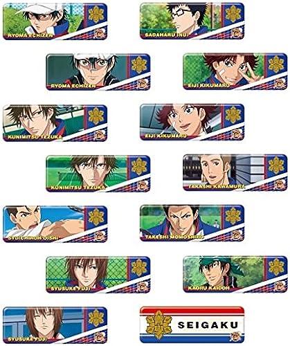 Der Prinz von Long Kang Abzeichen Sammlung neue Tennis Seigaku BOX Rohstoff 1BOX = 14 Stueck, alle 14 Arten