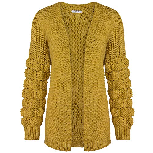 Hailys Haily´S Damen Strickjacke, Farbe:gelb, Größe:L/XL