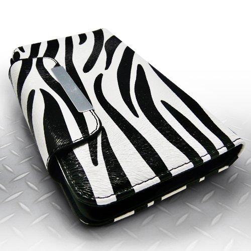 LG G3 Case - Classic Pouch/Wallet Case in Zebra Stripes Pattern Wallet Case For LG Optimus G3 - TRENDE