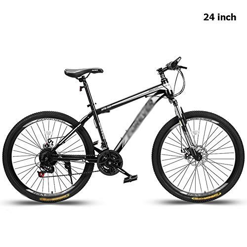 21-Gang Beach Cruiser Bike Für Herren, Bequemes Pendlerfahrrad City Road Fahrrad 24-Zoll / 26-Zoll-Räder Rahmen Aus Kohlenstoffhaltigem Stahl Geeignet Für Jungen Und Mädchen,24 inches
