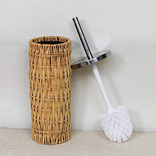 Creativiteit Rattan Bamboo Brush Brush De Parfum de toilette Hair Sweet Home Dagelijkse Leuke Long Handle with Base