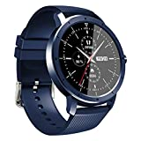 ZGLXZ HW21 Smart Watch Herren Damen Waterproof Fitness Band Herzfrequenz Sleep Monitor Smartwatch Für Ios Android,C
