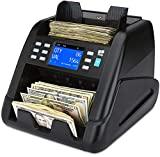 ZZap NC55 Mixed Denomination Bill Counter & Counterfeit Detector - Money Machine Cash Currency Value