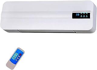 LLRDIAN Calefactor eléctrico montado en la Pared Calentador de calefacción del hogar baño pequeño Ventilador de Aire Acondicionado con Ahorro de energía ▎enfriamiento y calefacción