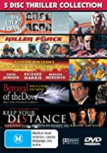 Thriller Collection (5 Movies) - 5-DVD Set ( Ten Little Indians / Killer Force / Golden Rendezvous / Betrayal of the Dove / Keep Your Distance ) ( And Then There Were None (10 Litt [ NON-USA FORMAT, PAL, Reg.0 Import - Australia ]