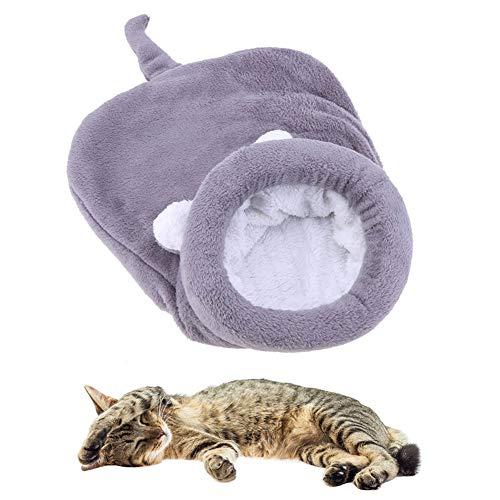 Kat Cave Hond Cave Bed Hond Comfort Bed Huisdier Bedden Voor Honden Pet Cave Draagbare Hond Bed Kat Slaapzak Kitten Bed Hond Slaapbank Warm Hond Bed gray,l
