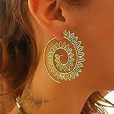 hot vendita, fittingran orecchino vintage moda donna orecchini orecchini gioielli accessori regali orecchini gioielli (oro-b)