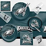 Philadelphia Eagles Game Day Party Supplies Kit