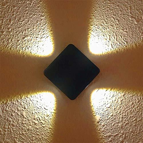 L-YINGZON Arriba y Abajo luz de la pared, luz impermeable al aire libre de la pared la luz 4w IP65 for silla elevadora-A Lámpara de interior decorativo