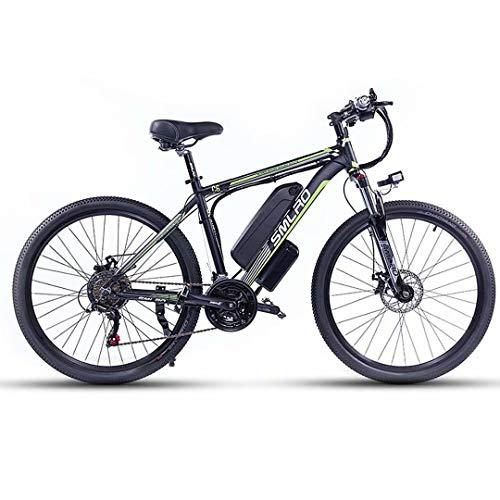 """26"""" Bici Elettrica, Motore 500W/1000W Bicicletta elettrica a pedalata assistita con Batteria Ion Litio Rimovibile 48V 13Ah, City E-bike MTB Elettrica per Adulto Donna e Uomo"""