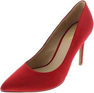 Michael Michael Kors Womens Claire Pointed Toe Classic Pumps, Red, Size 6.5