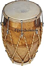 Dholak Drum Rope Bolt Tuned Dholki Dhol Use In Bhajan Kirtanwooden
