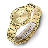 MINI FOCUS lady's watch レディースの腕時計 watch 秋の新金 女性用の腕時計 淑女の気質 ファッション 誕生日のプレゼント バラの金 (golden) [並行輸入品]