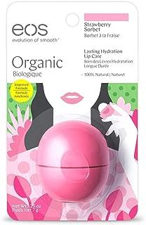 EOS Organic Strawberry Sorbet Lasting Hydration
