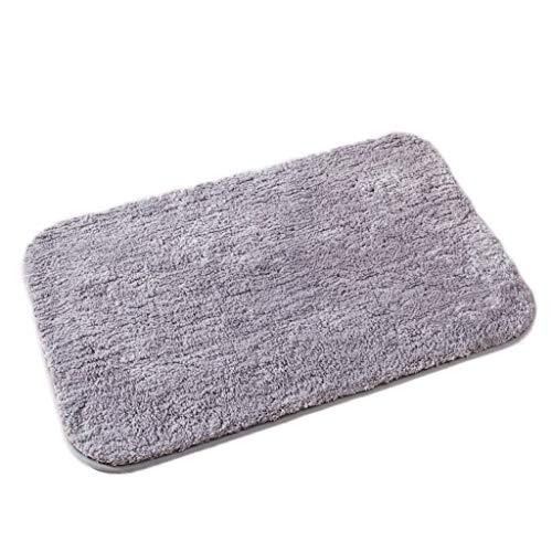 Möt kärlek badrumsmatta enkel modern vardagsrum sovrum sängkant filt badrumsmatta absorberande dörrmatta kök dörrmatta (färg: E, storlek: 60 x 90 cm)