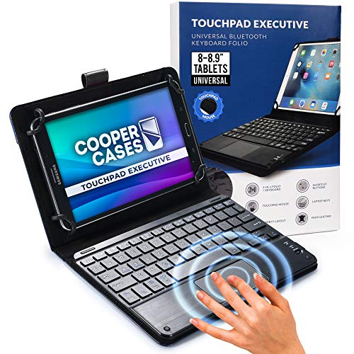 Cooper Touchpad Executive [Multi-Touch Mouse Keyboard] case for 8-8.9