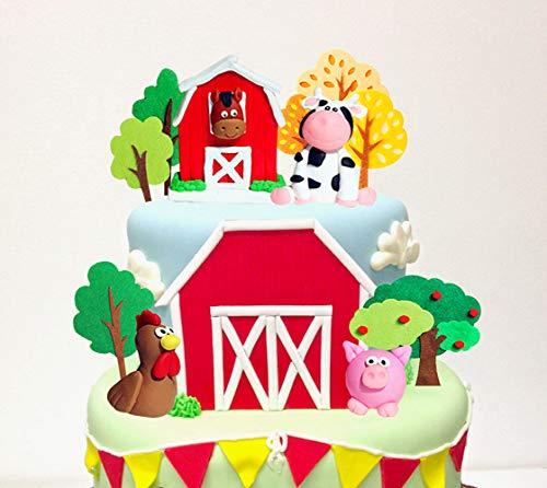 Top 10 best selling list for farm animals fondant figures