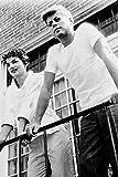 Poster John F.Kennedy & Jackie Kennedyb&W, 60 x 91 cm