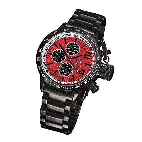 Konigswerk Herren-Armbanduhr Schwarz AQ101106G