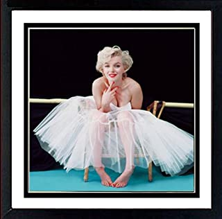 Marilyn Monroe Ballerina Vertical Sequence Hollywood Glamour Celebrity Actress Photo Poster 12x36 inch