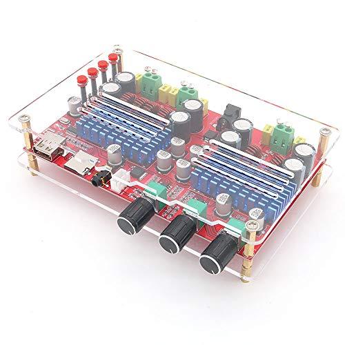 DollaTek TDA3116 2x60W + 100W 2.1 Kanal Bluetooth Audio Digitalverstärker Bord subwoofer AUX TF U Disk Decodierung