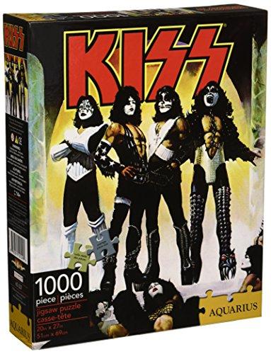 AQUARIUS Kiss Nmr Puzzle: 1000 Piezas, 20 x 27