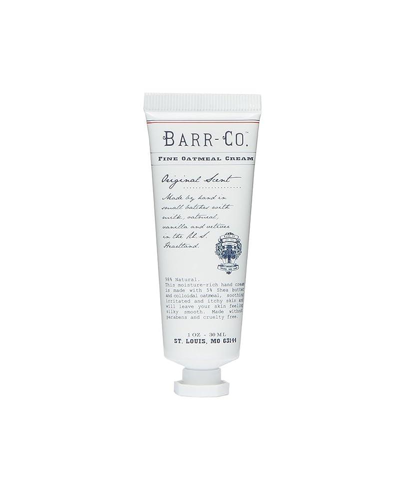 郵便番号あいまい仕えるBARR-CO.(バーコー) ミニハンドクリーム オリジナル