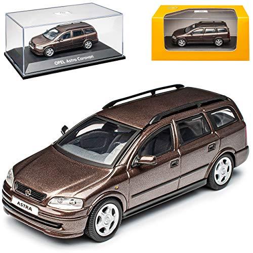 Opel Astra G Caravan Kombi Braun 1998-2005 1/43 Schuco Modell Auto Modell Auto