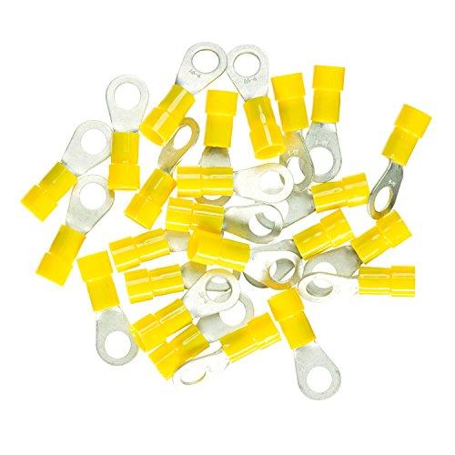 Haupa BLV260288 Ringkabelschuh isoliert 2,5-6mm² M6 gelb 25 Stück, blau, 5-6 mm²
