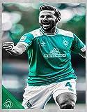 Nalana Poster Werder Bremen Football UH-436 Bar Living Room