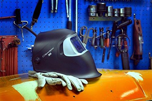3M Speedglas 100 Pantalla de Soldadura con filtro automático tonos 3/8 a 12 negra (1 pantalla/caja)