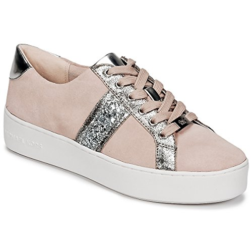 MICHAEL MICHAEL KORS POPPY STRIPE LACE UP Sneakers dames Roze Lage sneakers