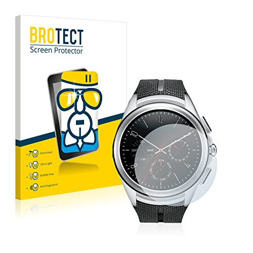 BROTECT Panzerglas Schutzfolie kompatibel mit LG Watch Urbane 2nd Edition - AirGlass, extrem Kratzfest, Anti-Fingerprint, Ultra-transparent