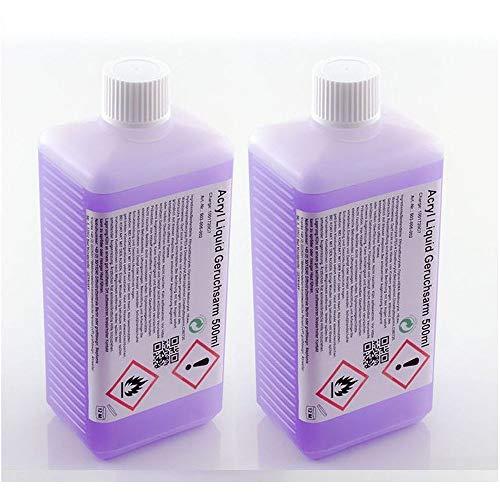 Acryl-Flüssigkeit - Liquid mit Sun-Blocker - 1000 ml