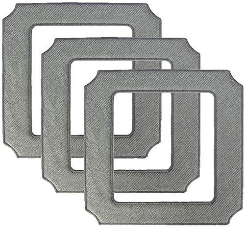 HAOKE 3 almohadillas de paños compatibles con Ecovacs W850...