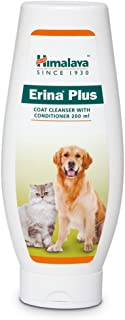Himalaya PetSutra Erina Plus Coat Cleanser for Dogs and Cats with Conditioner for Controlling Dandruff (200 ml)