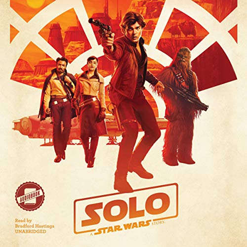 Solo: A Star Wars Story audiobook cover art
