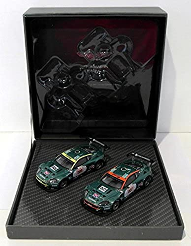 ASTON MARTIN 1 43 2006 LE MANS 007 &009 LIMITED DIECAST