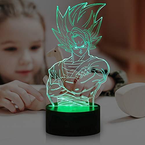 Lámpara de bola de dragón 3D con diseño de catoon LED Super...